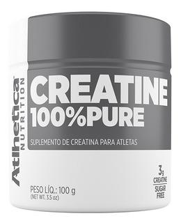 Creatina 100% Pure Pro - 100g Natural - Atlhetica Nutrition