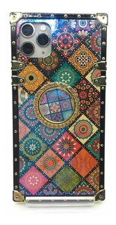 Funda Para iPhone Xr Diseño Geométrico Multicolor