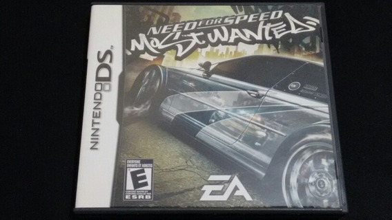 Need For Speed Most Wanted Original Americano Nintendo Ds