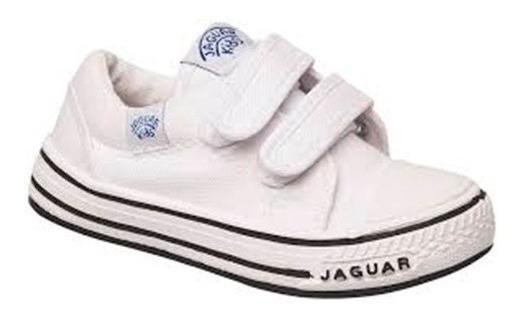 Zapatilla Jaguar Kids 129 Blanco 27 28 29 30 31 32 33 Niños