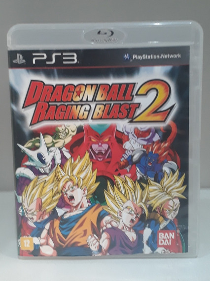 Jogo Dragon Ball Raging Blast 2 Ps3 (usado)