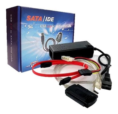Convertidor Adaptador Ide/sata A Usb 2.0