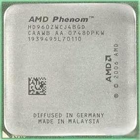 Processador Amd Phenom X4 9600 2.3ghz 2m Quad Core Semi Novo