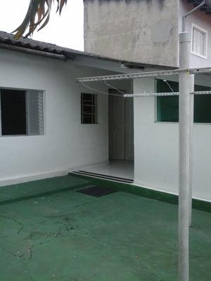 Casa Terrea De Fundos - Locacao - 1 Dormitorio - 1 Vaga De Garagem - Otima Localizacao - Vila Cruzeiro - Zona Sul - Ca00029 - 3183961