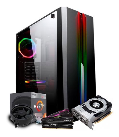 Pc Gamer Ryzen 5 2400g (gtx 1050ti 4gb) 8gb Ddr4 + 1tb