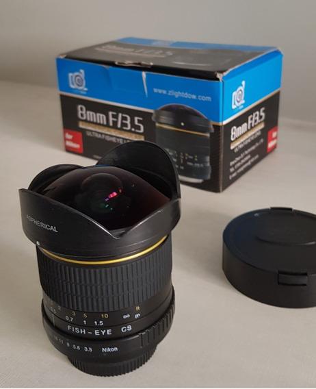 Lente Fisheye Para Nikon