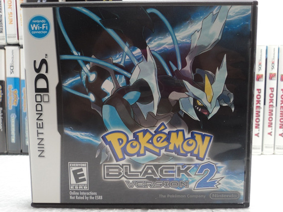 Pokemon Black 2 - Nintendo Ds - Promoção Em 12x Sem Juros!!!