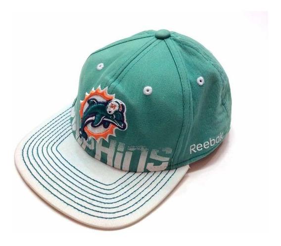 Gorra Reebok Miami Dolphins Nfl Cap Snapback Americana L/xl