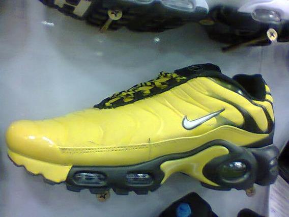 Tenis Nike Air Max Tn Amarelo E Preto Nº38 Ao 43 Original