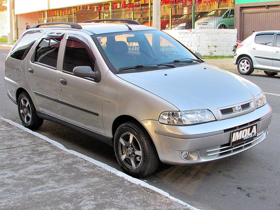 Fiat Palio 1.0 Mpi Weekend Elx 16v Gasolina 4p Manual