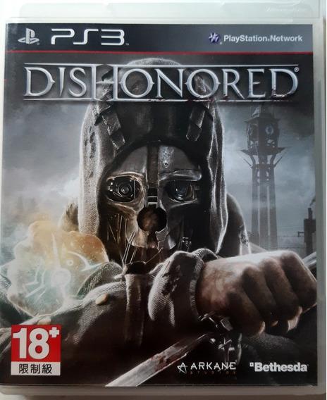 Dishonored - Ps3 - Midia Fisica Original