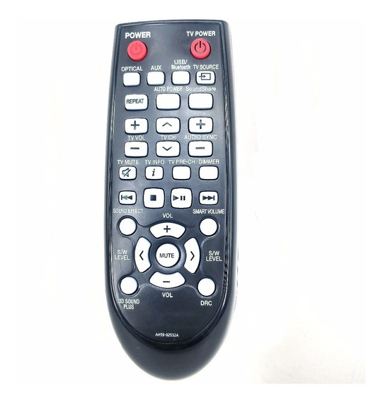 Controle Remoto Samsung Soundbar Ah59-02532a Hw-f355 Hw-f750