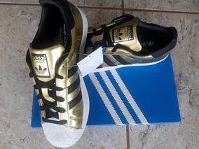 Tênis adidas Superstar Ouro W Original Tam.38 E 39