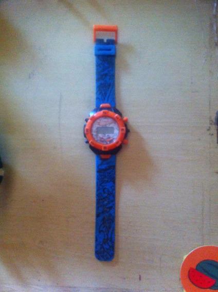 Relógio Hotwheels