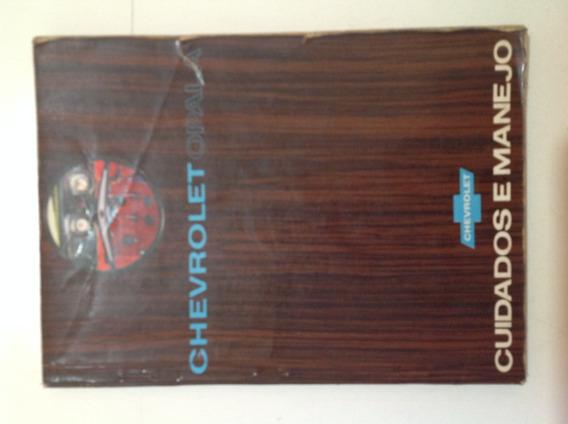 Manual Do Proprietário - Opala 2500 E 3800 1969 Original!