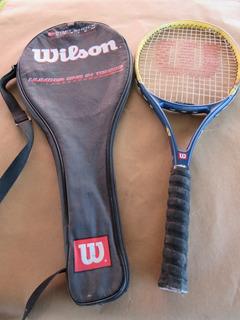 Raquete De Tenis Wilson L 3 4 3/8 Soft Shock