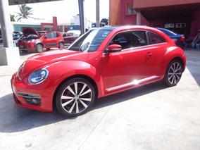 Volkswagen Beetle Turbo Tsi Paquete R-line 2015 Rojo
