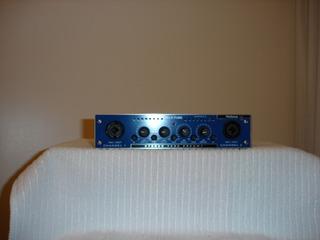 Blue Tube Preamplificador Valvular De 2 Canales