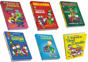 Livro Hq Manual Escoteiro Donalda Gastão Disney Atacado 50un