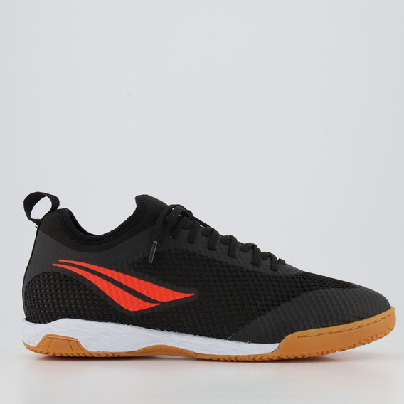 Chuteira Penalty Max 500 Ix Locker Futsal Preta