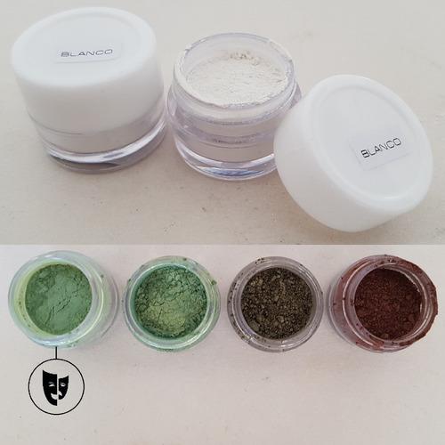 Sombra En Polvo Perla Pura Titi Env 2gr Pigmento Verde Claro