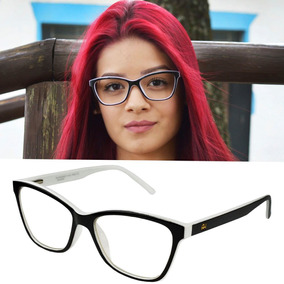 b583890b6 Oculo Grau Ana Hickmann Branco - Óculos no Mercado Livre Brasil