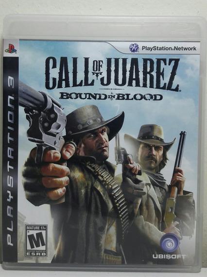 Jogo De Ps3 Call Of Juarez Bound In Blood Em Mídia Física