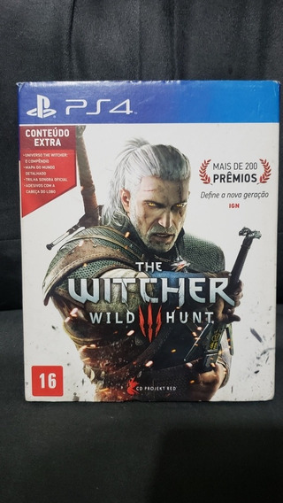 The Witcher 3 Seminovo Ps4