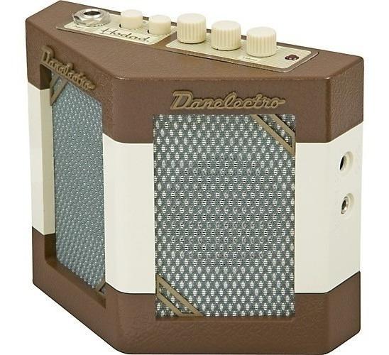 Hodad Mini Amplificador Twin Speakers Efectos Danelectro Dh1