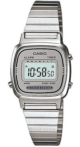 Relógio Casio Feminino Retro Vintage La670wa-7df Mini