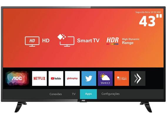 Smart Tv Led Aoc 43 Full Hd Hdr 43s5295/78g
