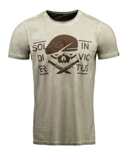 Camiseta Concept Ks Green Invictus + Brinde Plaqueta Nautika