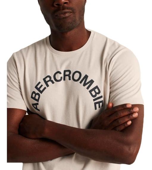 Camiseta Abercrombie Short-sleeve Original Logo Tee
