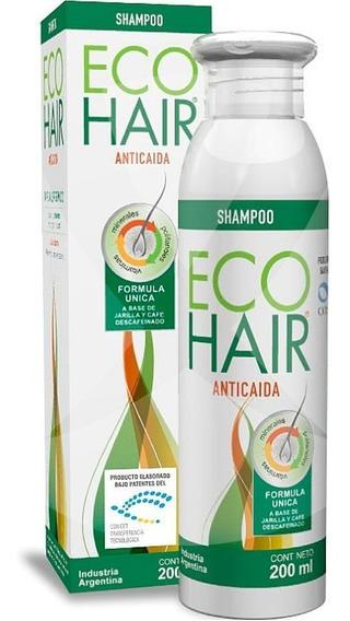 Eco Hair Shampoo Anticaída De Cabello X200 Ml Farmacia Selma