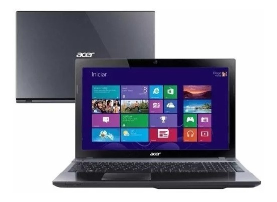 Notebook Acer V3-571-9423 Core I7 8gb 500hd