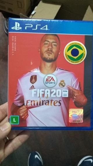 Fifa 2020 Ps4 Lacrado Mídia Física