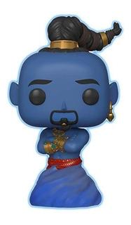 Funko Pop Genio Genie De Aladdin Amazon Excl. Glows