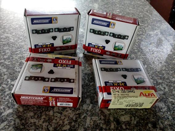 Kit Com 5 Suportes Para Tv Fixo 14 A 84 Multivisão