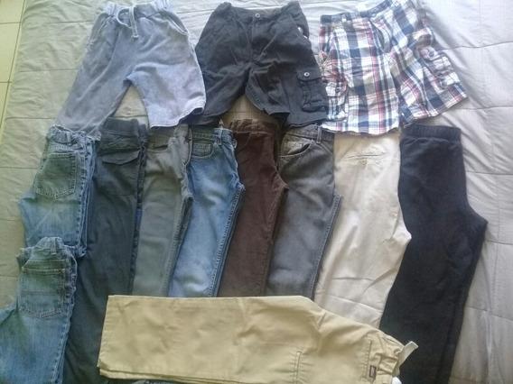 Pantalones Y Short 13 Piezas