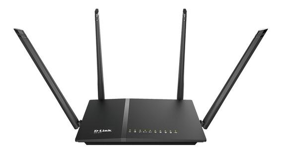 Roteador Dir 815 Wireless Dual D Link Ac 1200mbps 4 Antenas