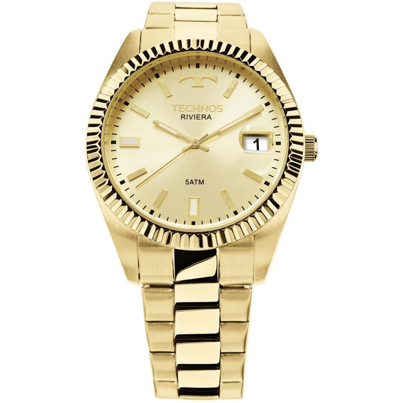 Relógio Technos Riviera Dourado 2415ch/4x