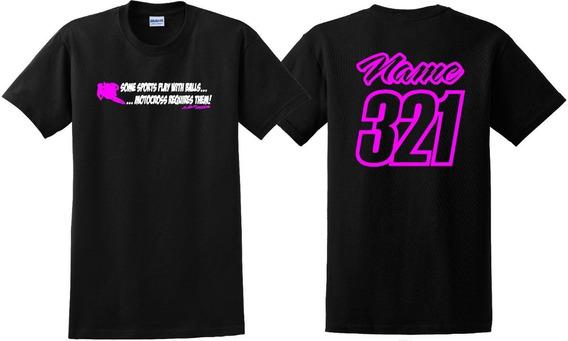 Promoção Personalize Sua Camisa De Motocross Nome E Número