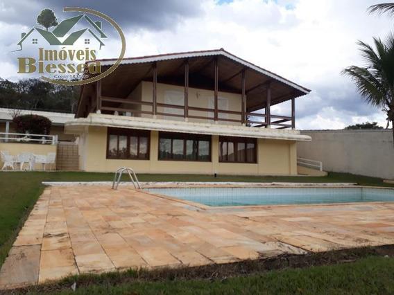 Chácara Para Locação Em Atibaia, Vale Dos Pinheiros, 4 Dormitórios, 1 Suíte, 4 Banheiros, 2 Vagas - 0040l_1-1473520