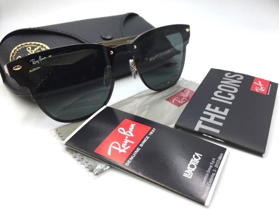 Ray-ban Blaze Clubmaster Rb3576 Oculos De Sol Unissex
