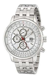 Reloj August Steiner Para Hombre As8162wt Pulso En Acero