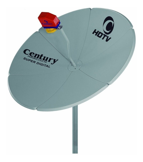 Antena Century Digital 1,30 Metros Multiponto Sem Recetor
