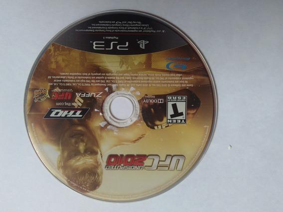 Ufc Undisputed 2010 - Sony Playstation 3 Jogo Original Ps3