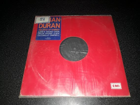 Disco Vinilo De Duran Duran Maxi Violence Formatovinilo