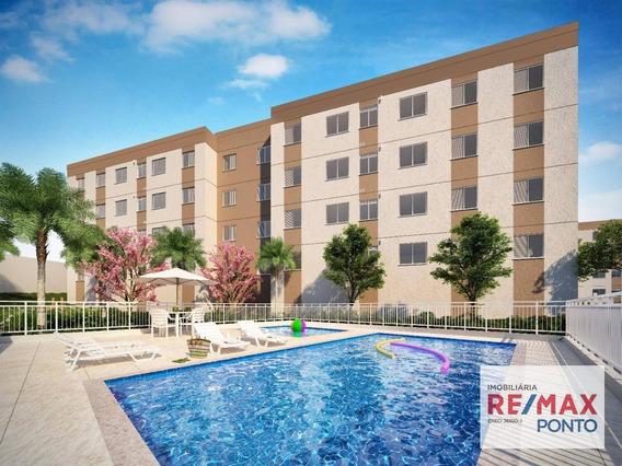 Apartamento Com 2 Dormitórios À Venda, 43 M² Por R$ 139.000,00 - Parque São Camilo - Mogi Guaçu/sp - Ap0031
