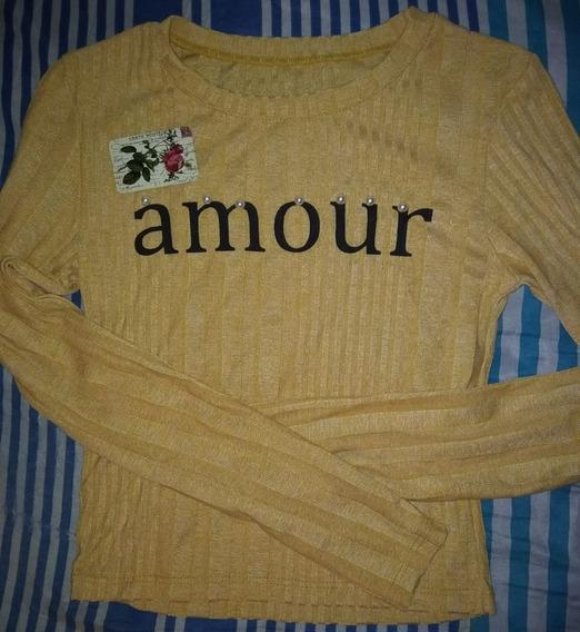 Sweater Lanilla Corto